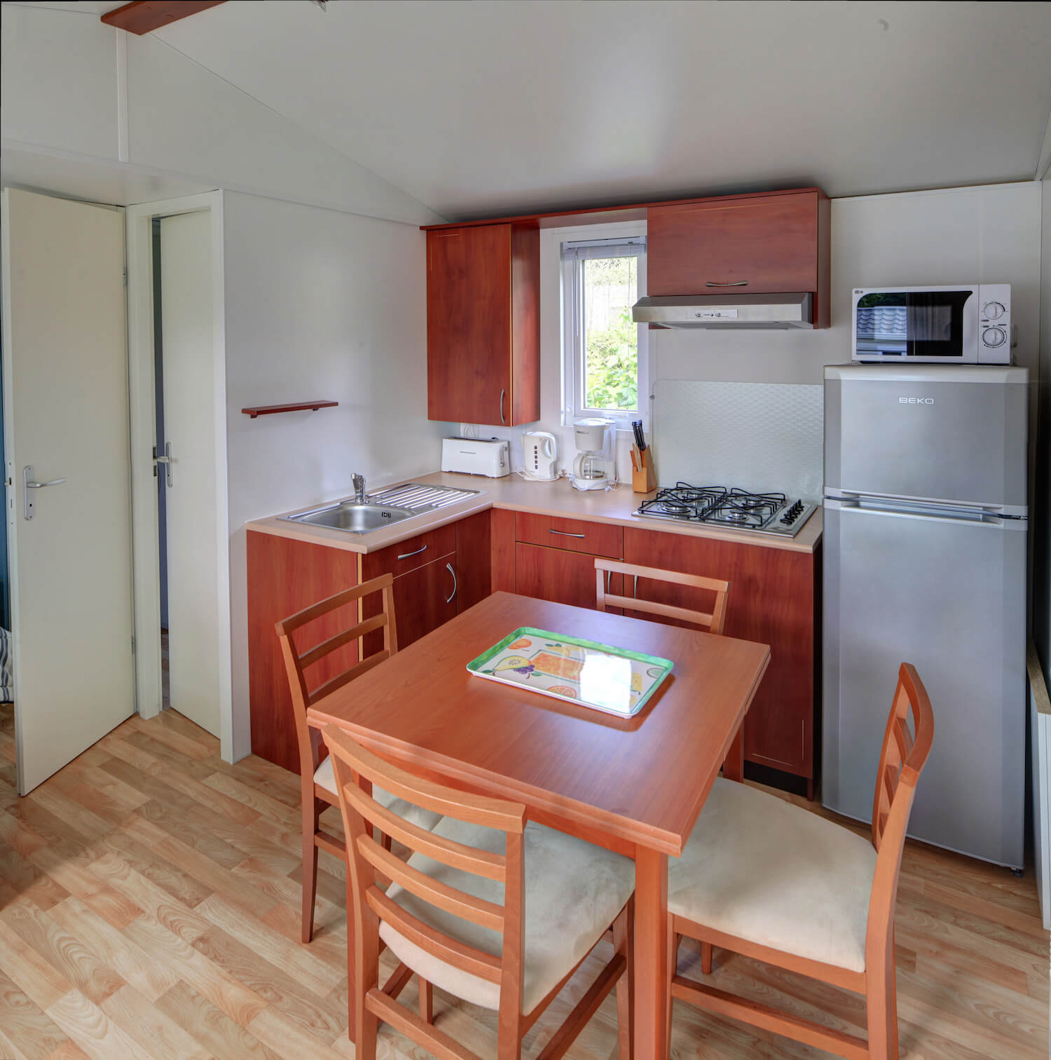 Cosy Et Tendance Salle De Bain mobile home rental in quimper | holiday rental in brittany